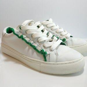 Tory Burch Ruffle Sneakers